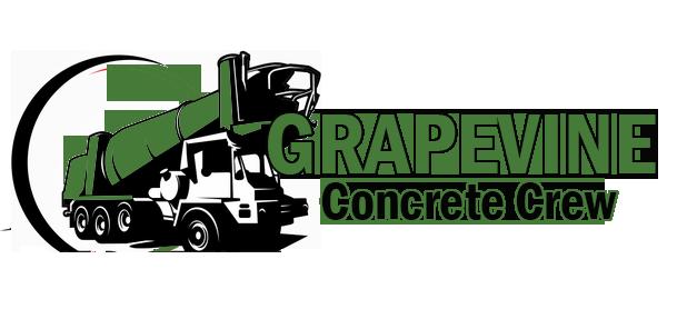 grapevine concrete crew logo